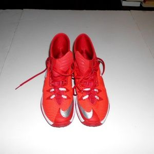 Nike Zoom red and white Men's size 8